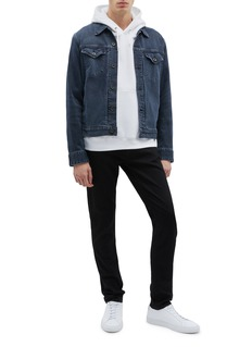 rag & bone 'Definitive' denim trucker jacket