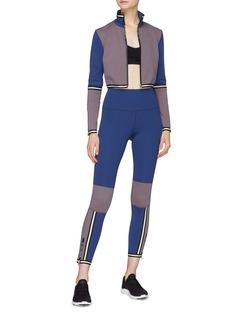 C-CLIQUE 'Russia' colourblock zip cuff performance leggings