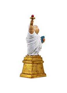 X+Q Baby of Liberty sculpture