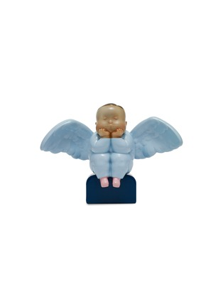 Main View - Click To Enlarge - X+Q - Mini baby Angel sculpture – Blue