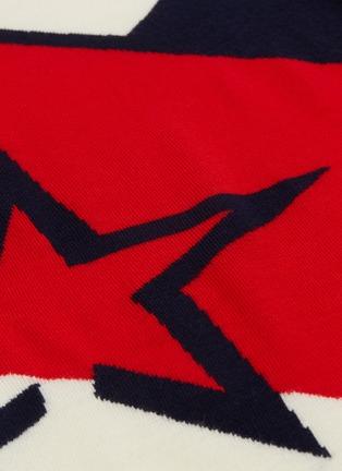 - Perfect Moment - 'Super Day' star intarsia colourblock turtleneck sweater