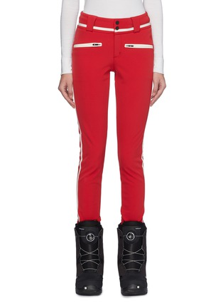 Main View - Click To Enlarge - Perfect Moment - 'Aurora II' stripe outseam skinny ski pants