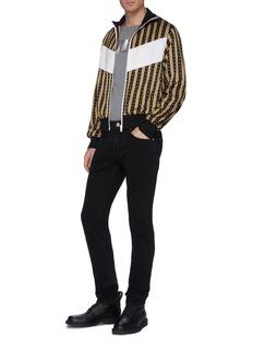 Versace 'Neo-Classico' print colourblock panel stripe track jacket