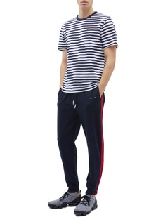 The Upside 'New Track City' stripe outseam jogging pants