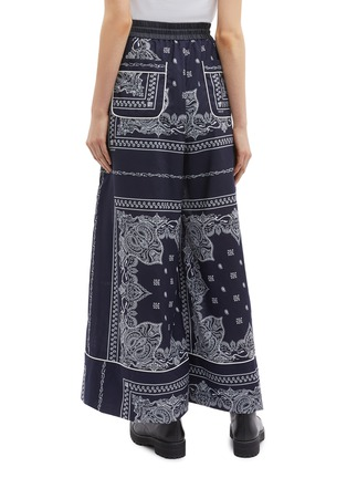 Back View - Click To Enlarge - Sacai - Bandana graphic print pyjama pants