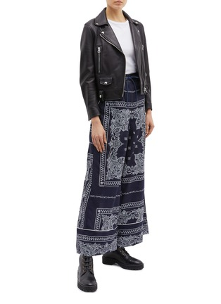 Figure View - Click To Enlarge - Sacai - Bandana graphic print pyjama pants