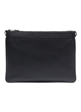 Main View - Click To Enlarge - Maison Margiela - PVC panel leather pouch