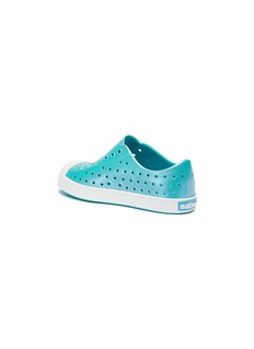 Native 'Jefferson Iridescent' perforated toddler slip-on sneakers