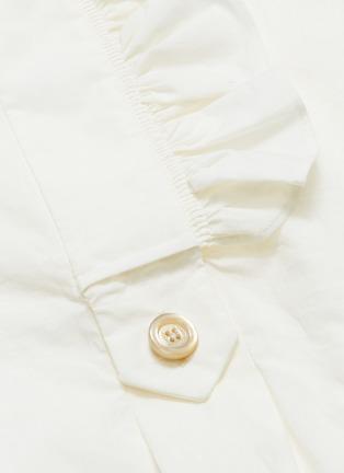 - Gucci - Ruffle trim long shirt