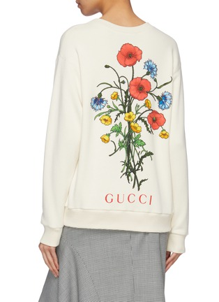 Back View - Click To Enlarge - GUCCI - 'Chateau Marmont' graphic print sweatshirt