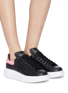 Alexander McQueen 'Larry' oversized outsole leather sneakers