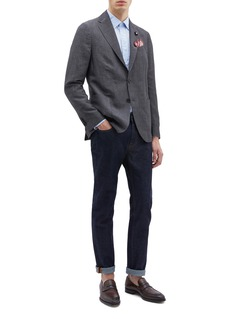 Lardini Linen blend soft blazer