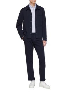 BARENA 'Cedro Trato' twill shirt jacket