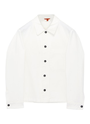 Main View - Click To Enlarge - BARENA - 'Cedro Trato' twill shirt jacket