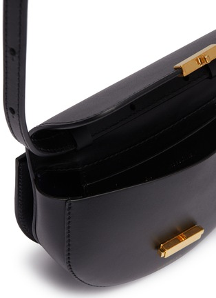 Detail View - Click To Enlarge - WANDLER - 'Anna' leather buckled belt bag