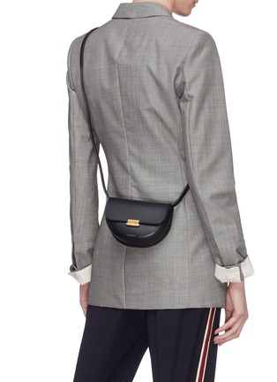 Front View - Click To Enlarge - WANDLER - 'Anna' leather buckled belt bag