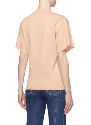 Back View - Click To Enlarge - Chloé - Horse print T-shirt