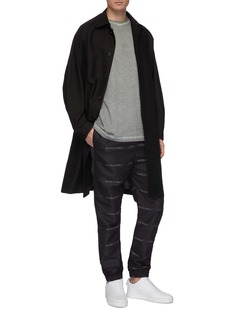 A-COLD-WALL* Logo print jogging pants