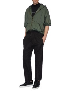 A-COLD-WALL* Drawcord knee zip cuff jogging pants