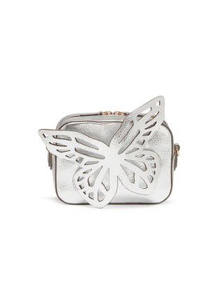 Main View - Click To Enlarge - SOPHIA WEBSTER - 'Flossy' butterfly appliqué leather camera bag