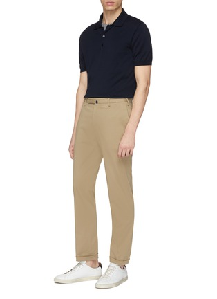 Figure View - Click To Enlarge - Incotex - Slim fit twill chinos