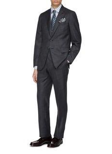 ISAIA 'Gregory' wool-silk suit