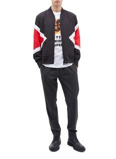 Neil Barrett 'Modernist' panel bomber jacket