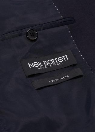 - NEIL BARRETT - Peaked lapel slim fit suit