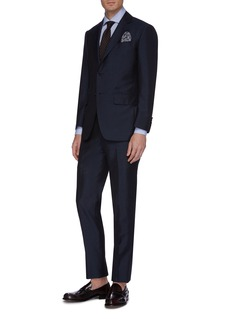 Tomorrowland Check mohair-wool blend suit