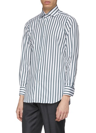 Front View - Click To Enlarge - TOMORROWLAND - Stripe shirt