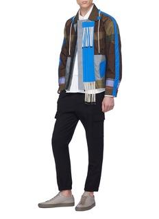 Craig Green 'Tent' drawstring fringe quilted patchwork jacket