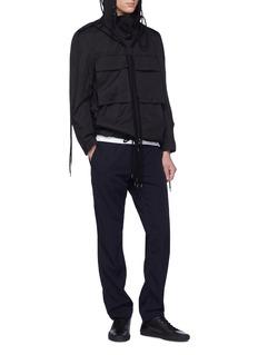 Craig Green Hooded drawstring poplin shirt jacket