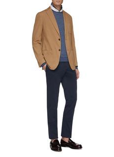 Altea Stripe linen-cotton sweater