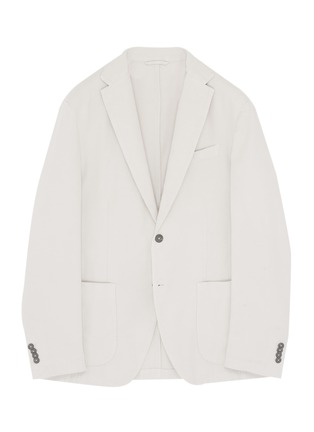 Main View - Click To Enlarge - ALTEA - Cotton-silk soft blazer