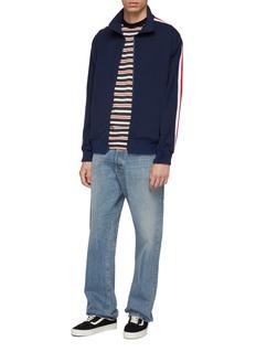Noon Goons 'Flight' stripe sleeve track jacket
