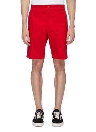Main View - Click To Enlarge - NOON GOONS - 'Club' twill shorts