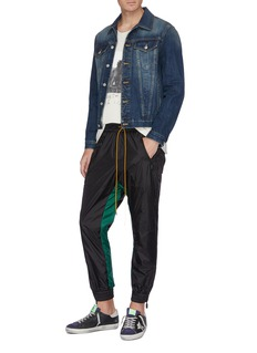 RHUDE Colourblock inseam jogging pants