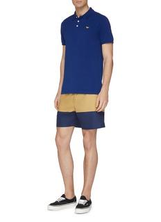 Maison Kitsuné Fox appliqué polo shirt