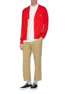 Maison Kitsuné Fox head appliqué polo shirt