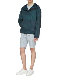 PS Paul Smith Contrast stripe windbreaker hoodie