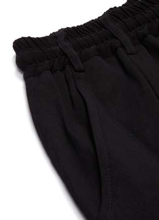 - SONG FOR THE MUTE - Pleated jogging pants