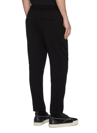 Back View - Click To Enlarge - SONG FOR THE MUTE - Pleated jogging pants