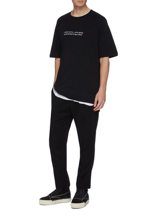 Figure View - Click To Enlarge - Song for the Mute - Pleated jogging pants