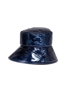 Maison Michel 'Paulina' leather fisherman hat
