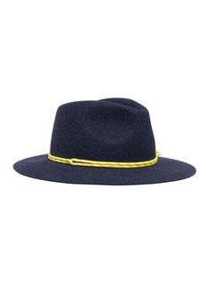 Maison Michel 'Rico' cord rabbit furfelt fedora hat
