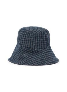 Maison Michel 'Paulina' houndstooth fisherman hat