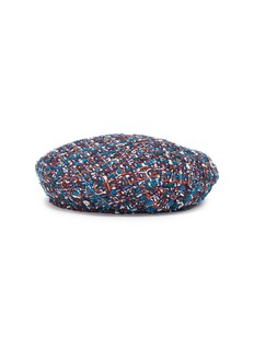 Maison Michel 'New Billy' tweed beret
