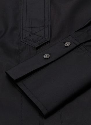 - 3.1 PHILLIP LIM - Detachable waist tab long shirt jacket