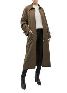 3.1 Phillip Lim Oversized belted virgin wool gabardine trench coat
