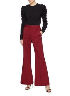 3.1 Phillip Lim Virgin wool flared pants